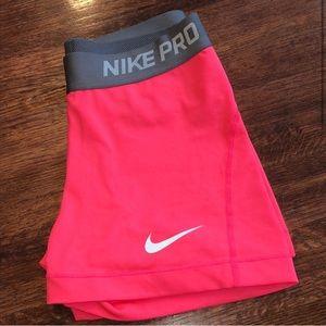 Nike Shorts - Nike Pro Shorts 💗🌭